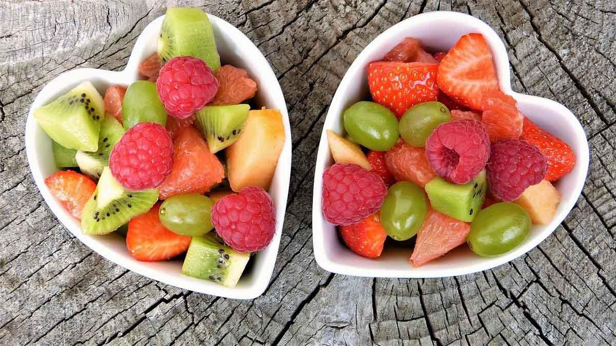 schaaltjes vers fruit
